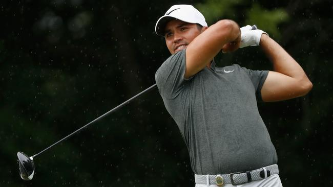 Jason Day during the second round of the PGA Championship.