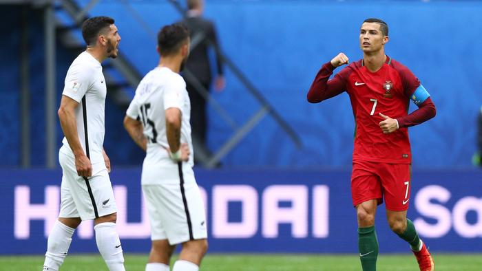 New Zealand v Portugal: Group A - FIFA Confederations Cup Russia 2017