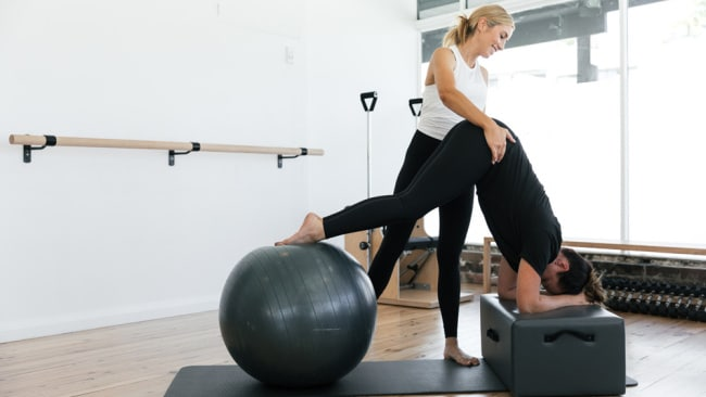 """As you get stronger Pilates gets harder."" Image: Supplied"