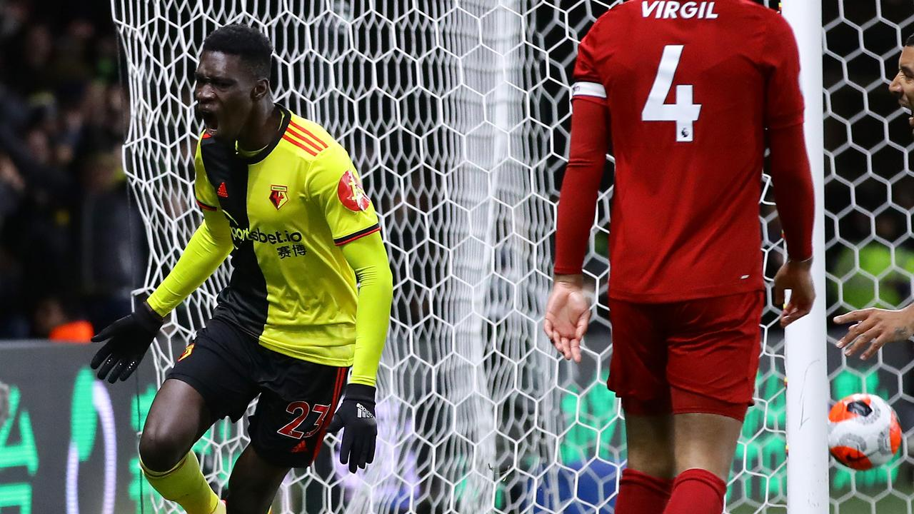 Ismaila Sarr is being targeted by Liverpool. (Photo by Richard Heathcote/Getty Images)