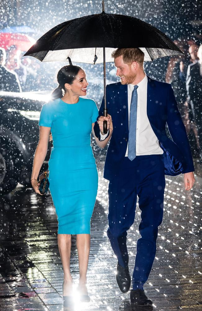 The couple looked joyous when they appeared at an event in London earlier in the week. Picture: WireImage