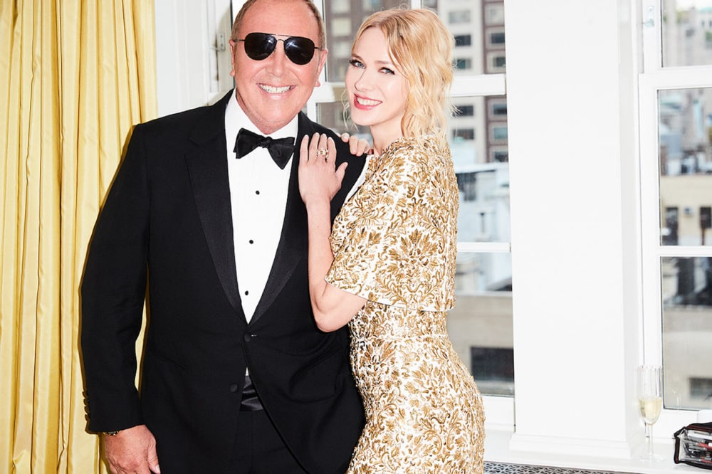 Michael Kors and Naomi Watts before the Met Gala 2018. Photographed by Ben Watts.