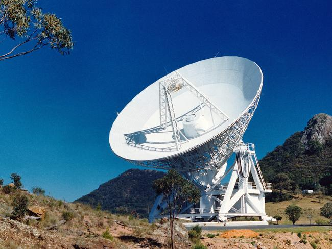 The Mopra Telescope is a 22-m single-dish radio telescope located at the edge of the Warrumbungle Mountains near Coonabarabran, about 450km northwest of Sydney. It is operated by CSIROs Astronomy and Space Science division Picture: CSIRO