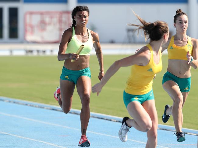 Morgan Mitchell is a sprinter who has represented Australia at the Olympics. Picture: Adam Head