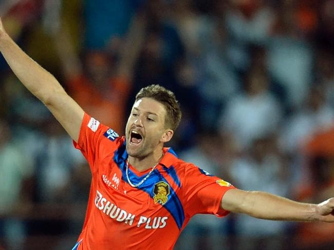 Andrew Tye made an impact in the IPL last year with Gujarat.