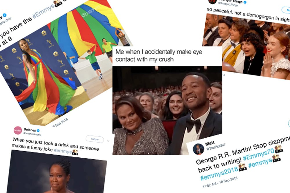 The best memes from the 2018 Emmy Awards