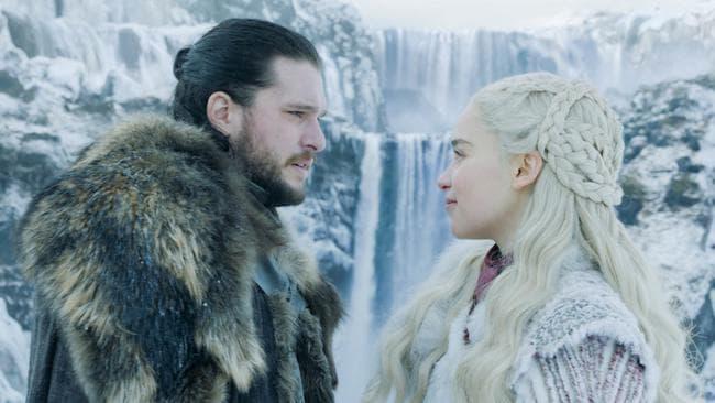 Daenerys Targaryen was murdered by Jon Snow in the GoT finale. Picture: Supplied.