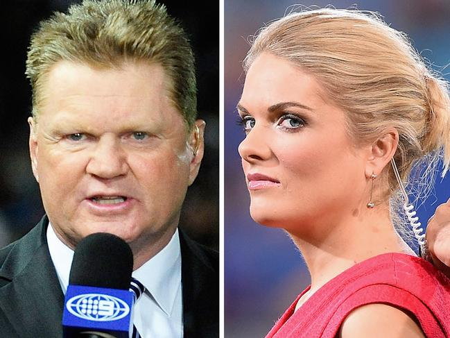Erin Molan was meant to bring a fresh and youthful energy to The Footy Show but ratings continued to dive this year. Picture: Getty