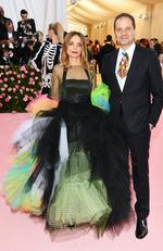 Max Hollein and Nina Hollein attend The 2019 Met Gala Celebrating Camp: Notes on Fashion at Metropolitan Museum of Art on May 06, 2019 in New York City. (Photo by Dimitrios Kambouris/Getty Images for The Met Museum/Vogue)