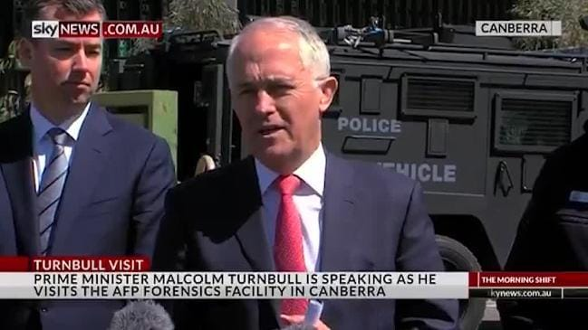 Turnbull says the Govt is doing everything they can to tackle terror
