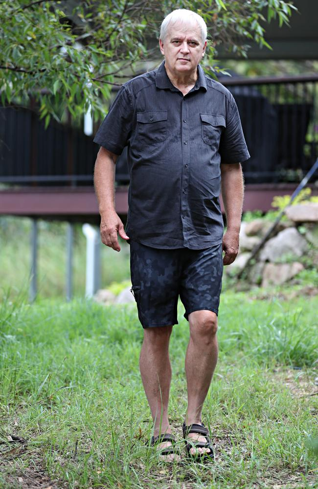 Retired police forensic expert John Garner reveals what he believes happened to sex worker Elizabeth Henry. Picture: Annette Dew.