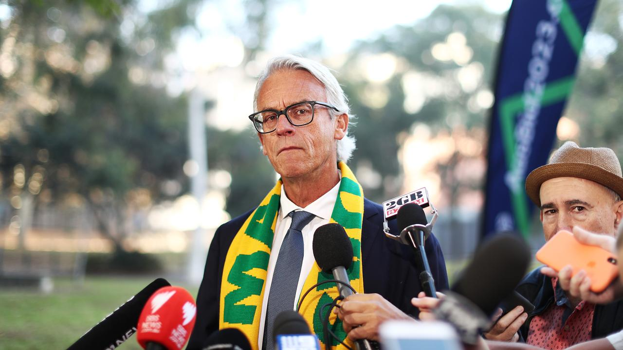 FFA CEO David Gallop has announced he will be stepping down