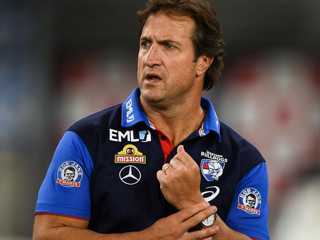 Luke Beveridge did not name names.