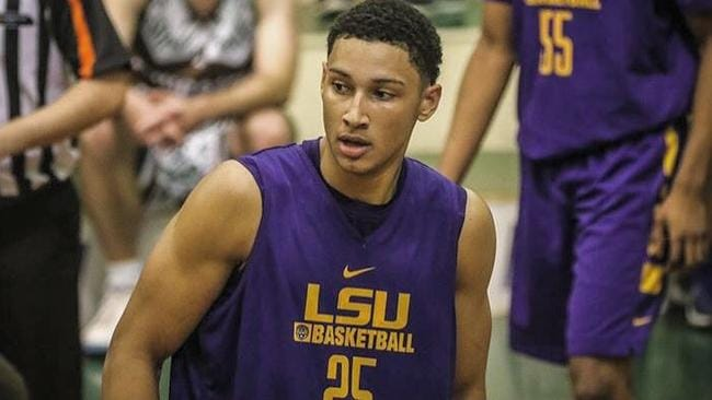 LSU Aussie Ben Simmons. Photo: LSU