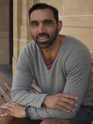 Yet to sign a new contract with Sydney Swans ... Australian of the Year Adam Goodes. Picture: SBS