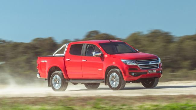 Holden is pulling out all stops to shift stock of the Colorado dual-cab ute.