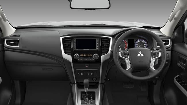 The Triton is packed with modern driver aids.