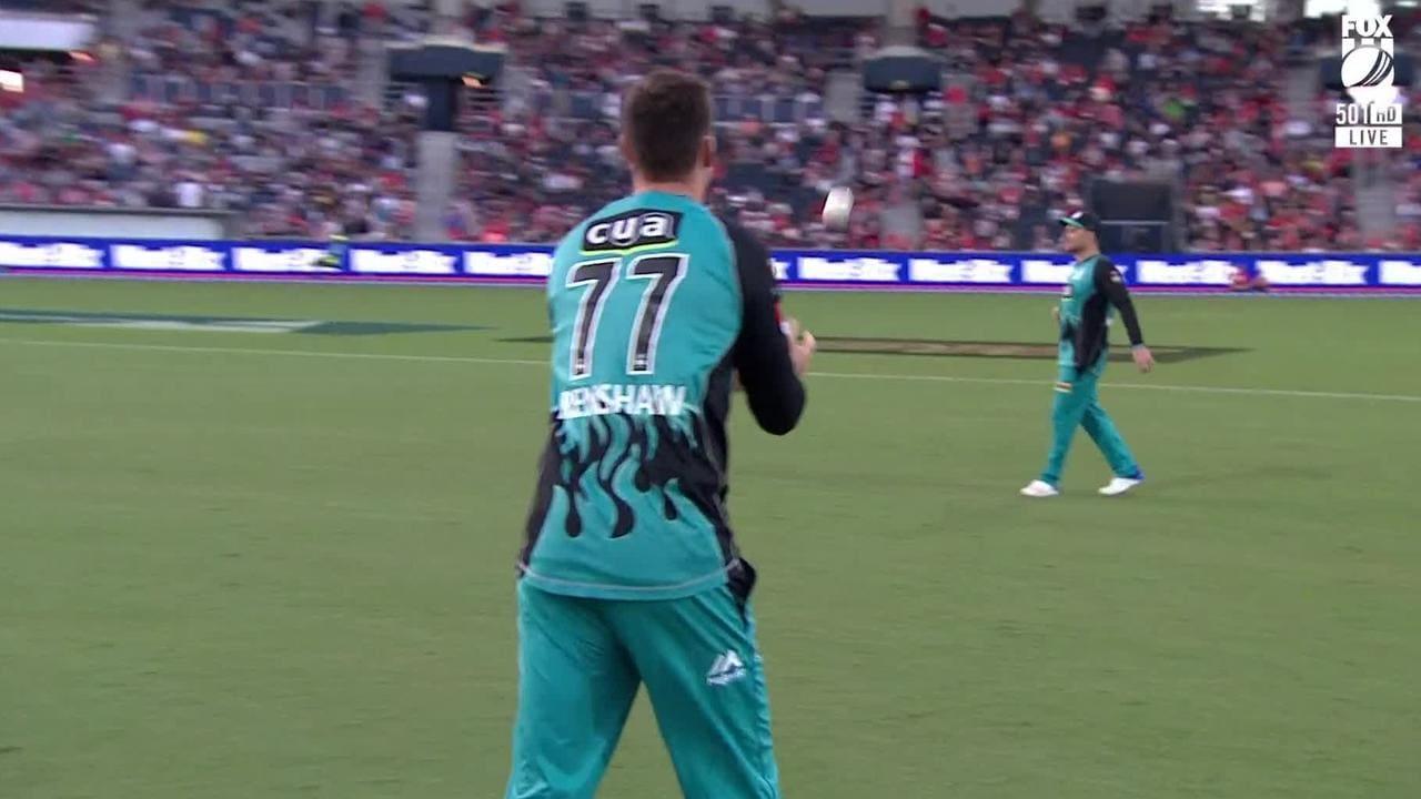 Matt Renshaw was handed the new ball.
