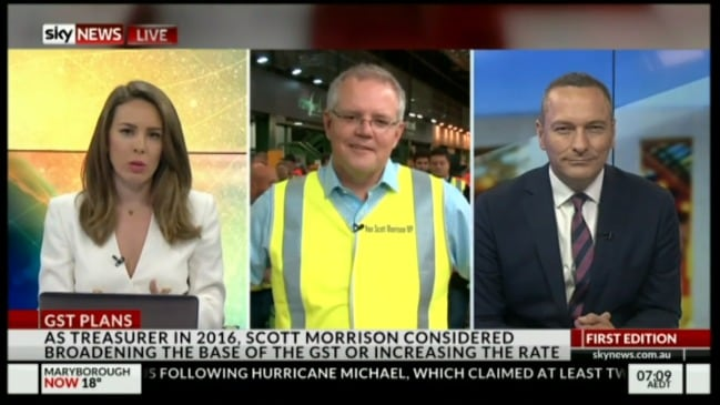 Scott Morrison rules out GST increase
