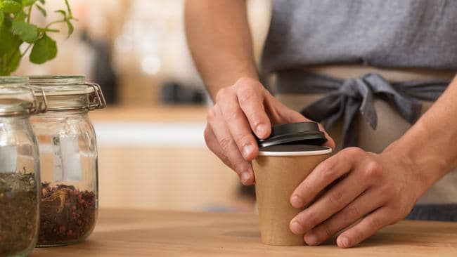 A new range of smaller coffee cups is becoming increasingly popular. Picture: iStock