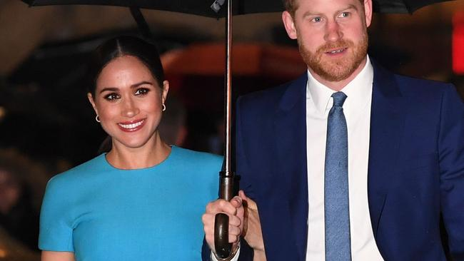 Meghan Markle and Prince Harry hand Frogmore Cottage to Princess Eugenie and move belongings to California in dead of night – NEWS.com.au