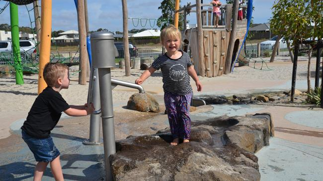 Mirambeena Park at Warralily in Armstrong Creek has won a Landscape Architecture Aware for GbLA in the Play Spaces category. Picture: Jeremy Winter