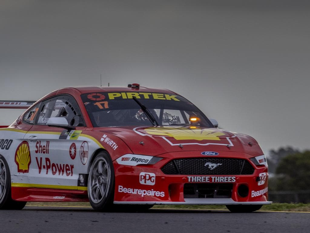 Supercars Champion Scott McLaughlin wins the opening race of the the BP Ultimate Sydney  SuperSprint of the Virgin Australia Supercars Championship in Sydney, Saturday, June 27, 2020. (AAP Image/Supplied by Supercars Championship, Mark Horsburgh) NO ARCHIVING, EDITORIAL USE ONLY