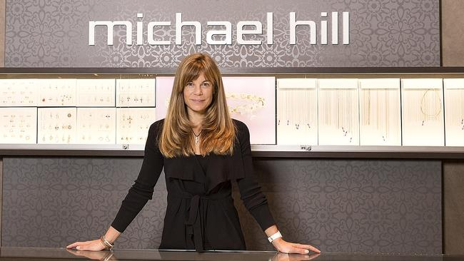 Michael Hill chair Emma Hill was a teenager when her dad's' 'embarrassing' ads made him a household name. Picture: AAP Image/Markson Sparks