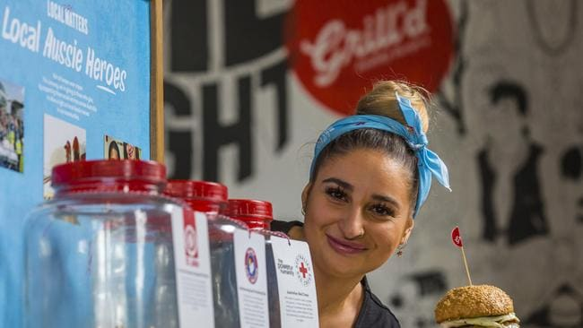 Burger chain Grill'd has been flourishing as other chains falter. Picture: Valeriu Campan