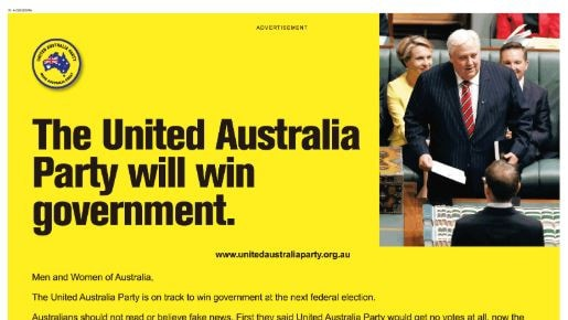 Clive Palmer has made quite the bold prediction.