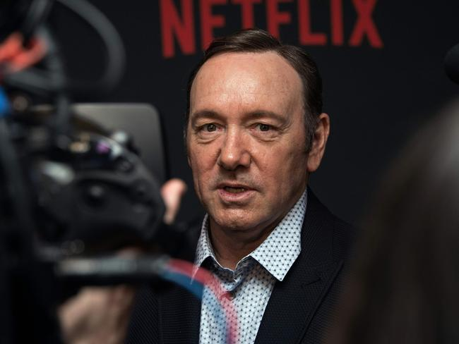 More sex assault allegations against Kevin Spacey have surfaced. Picture: AFP