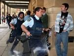 1999 - Armed STAR officers rushed into Adelaide District Court when a former policeman took a court stenographer hostage with a large knife, after he was sentenced to six years' jail for armed robbery.