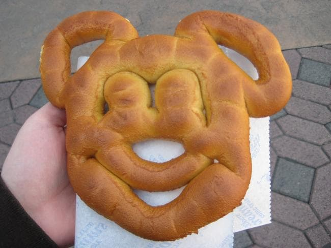 A Mickey Pretzel. Picture: Meredith P.