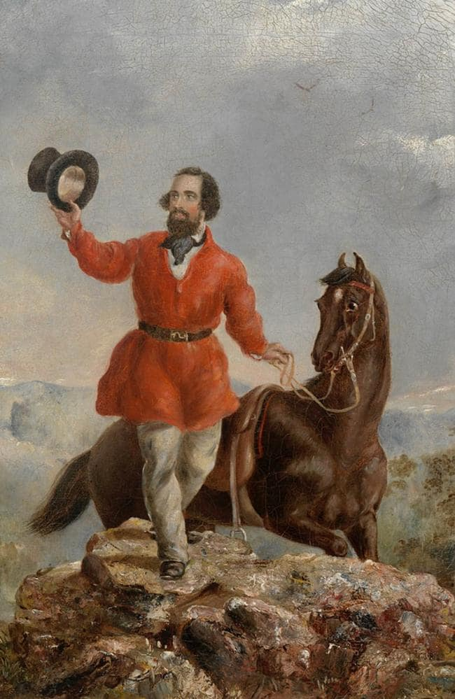 A portrait of Edward Hargraves, painted by T.T. Balcombe. Picture: State Library of NSW