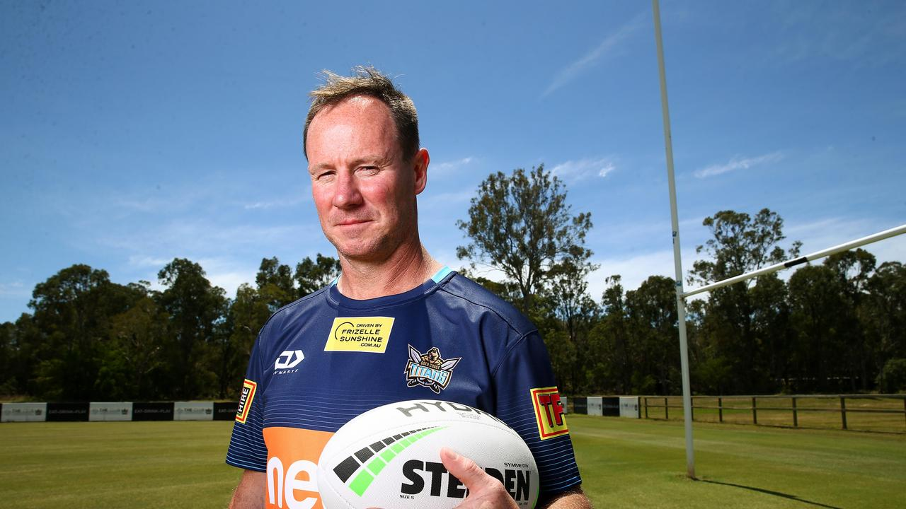 New Gold Coast Titans head coach Justin Holbrook