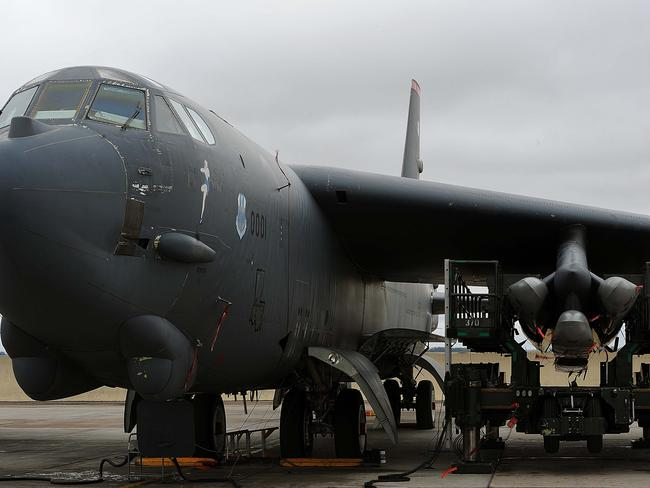 The 1950s-vintage B-52 bomber can carry up to 20 cruise missiles. Picture: US Air Force