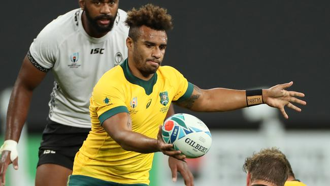 Will Genia helped steer Australia out of trouble against Fiji. Picture: Getty Images