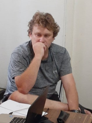 Australian Michael William Petersen has been detained in Bali. Picture: Supplied