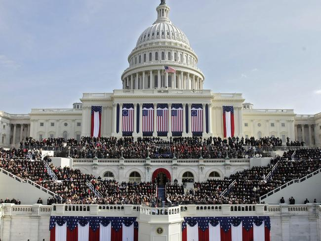 Capitol Hill in January 2009. Picture: Alex Wong / Getty Images / AFP