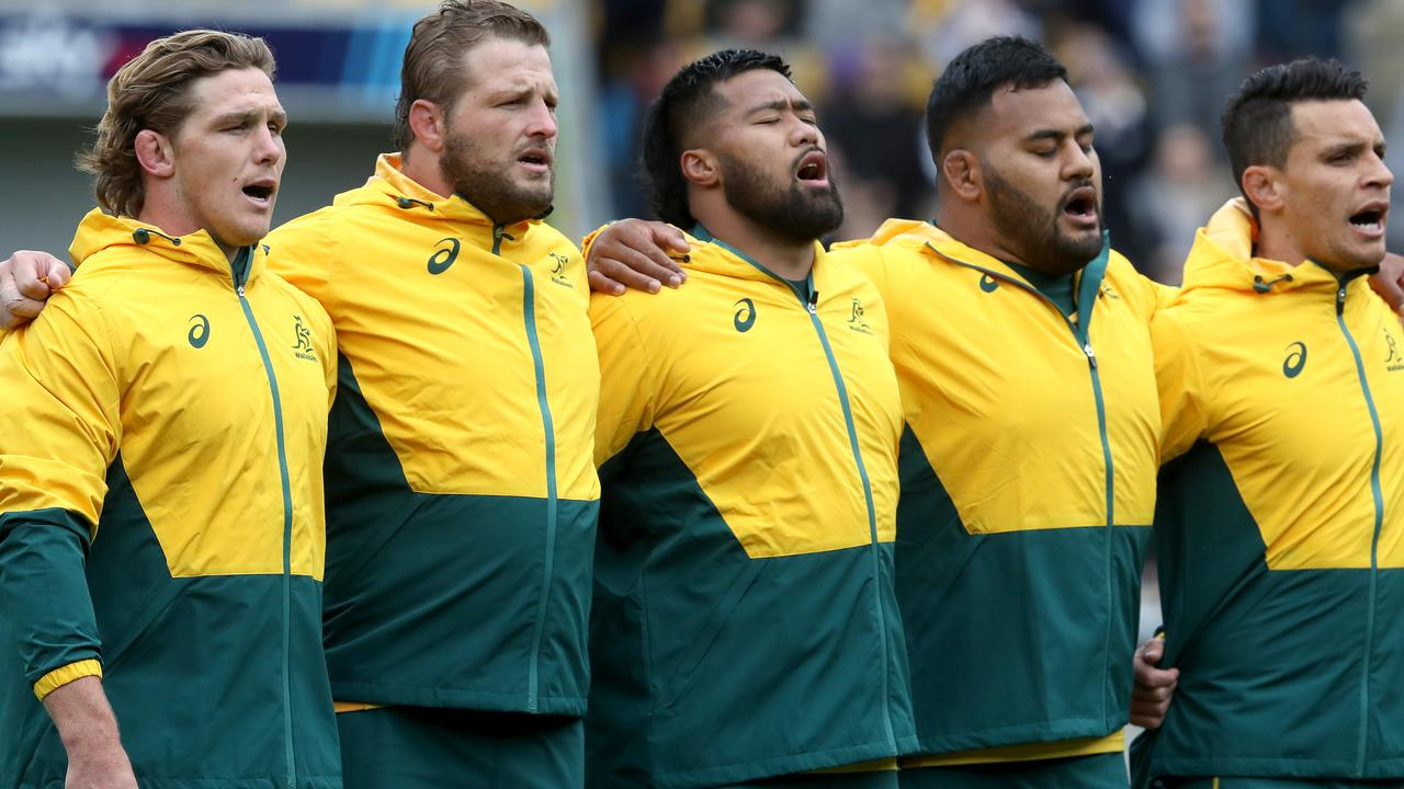 The Wallabies are considering taking a knee during the national anthem.