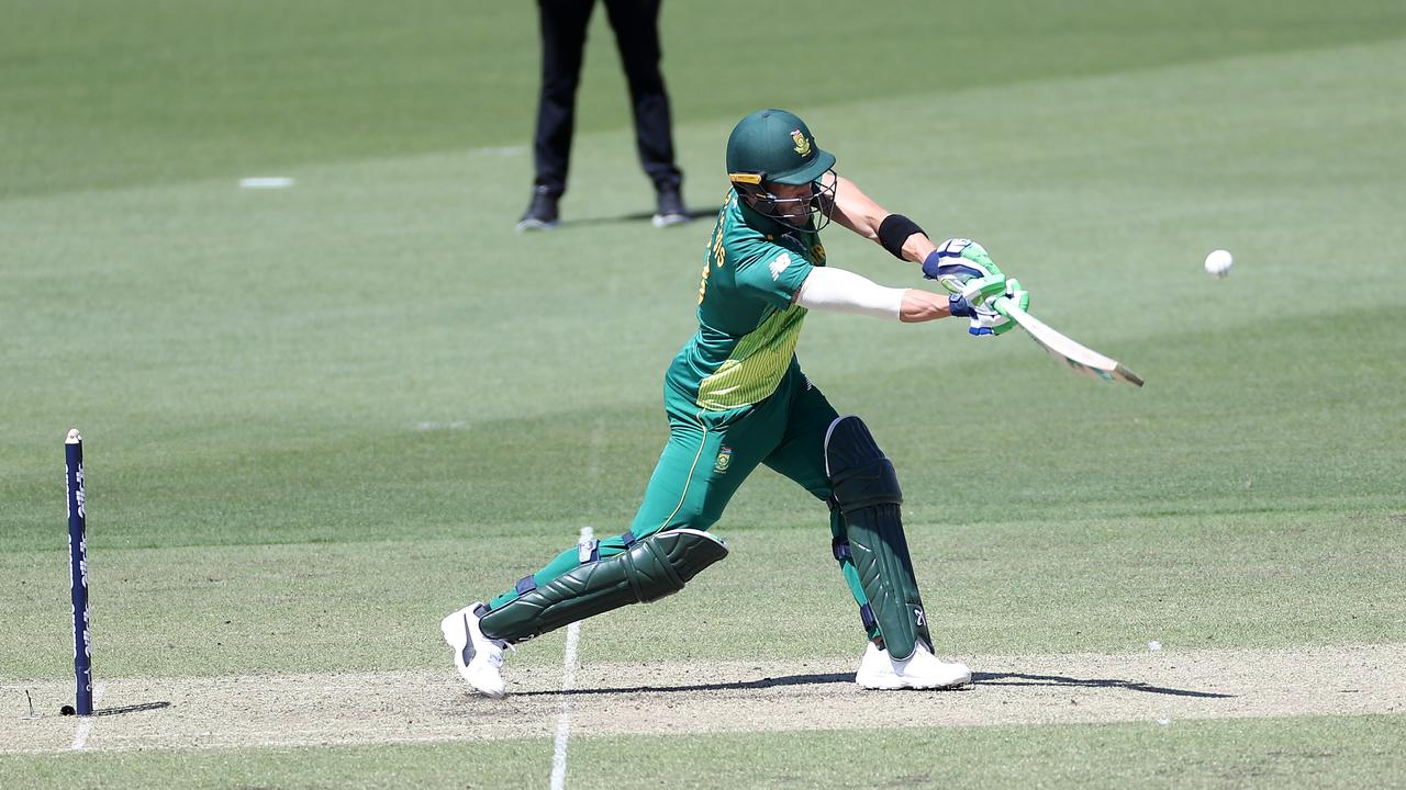 The Proteas remain a serious force to be reckoned with even without the injured Hashim Amla and JP Duminy. Pictured: Captain Faf du Plessis
