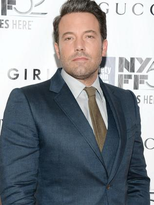 A Razzie nominee ... actor Ben Affleck. Picture: AP
