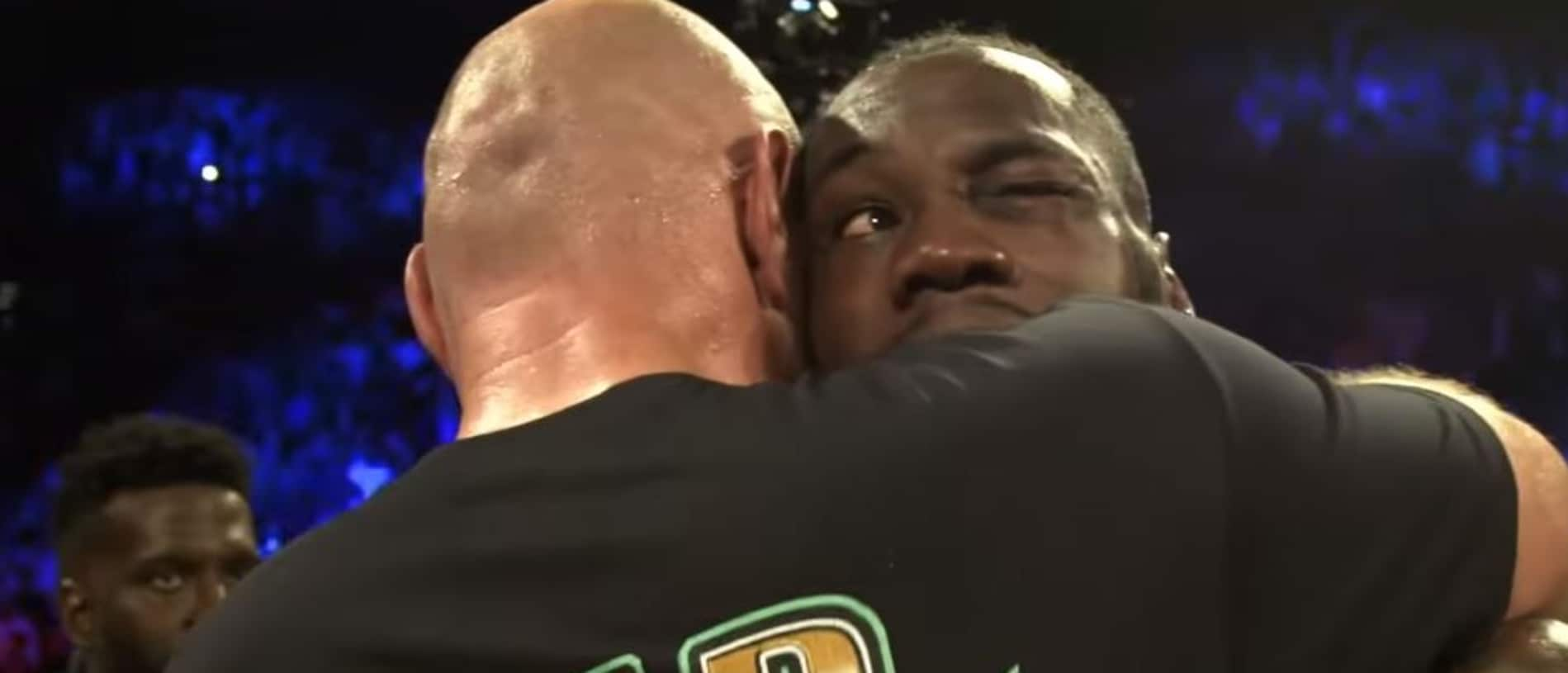 Tyson Fury had some lovely words for Deontay Wilder.