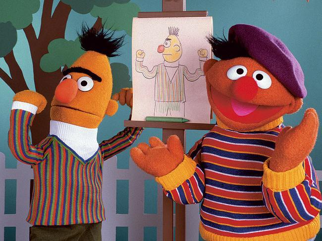 Sesame Street's favourite pair, Bert and Ernie.