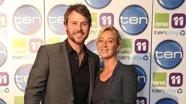 Rodger Corser and Asher Keddie will star in Party Tricks. Picture: Julie Kiriacoudis