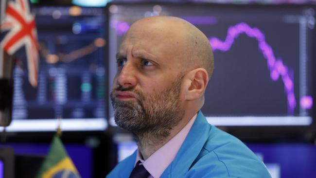 Investors are expecting the worst heading into another volatile week. Picture: AP Photo/Richard Drew