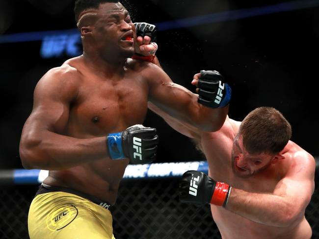 Francis Ngannou was out of his depth against Stipe Miocic.