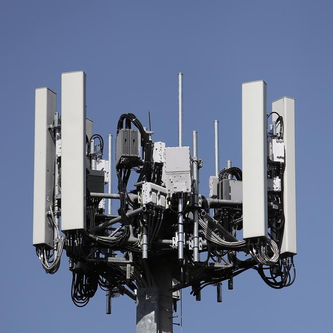 This 5G tower looks pretty much exactly like any other mobile tower, but there are differences with new network.