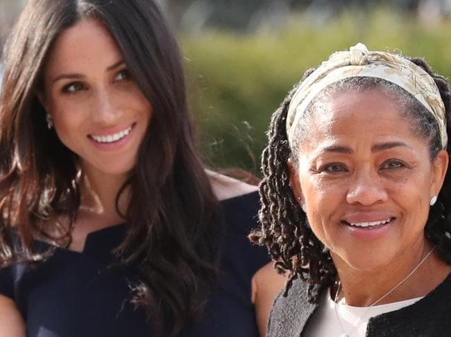 Meghan Markle and her mother, Doria Ragland in 2018. Picture: Getty Images