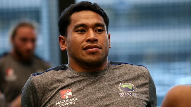 John Folau is hoping to follow his brother Israel into the big time. Photo: Clay Cross/SPORTSPICS
